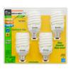 SYLVANIA 4-Pack 23-Watt (100W Equivalent) 2,700K Spiral Medium Base (E-26) Soft White CFL Bulb