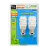 SYLVANIA 2-Pack 13-Watt (60W) Spiral Medium Base Daylight (6500K) CFL Bulbs