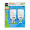 SYLVANIA 2-Pack 23-Watt (100W) Spiral Medium Base Daylight (6500K) CFL Bulbs