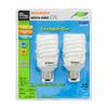 SYLVANIA 2-Pack 23-Watt (100W Equivalent) 6,500K Spiral Medium Base (E-26) Daylight CFL Bulb