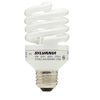SYLVANIA 12-Pack 20-Watt (75 W) Spiral Base Soft White (2700K) CFL Bulbs ENERGY STAR