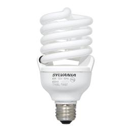 SYLVANIA 1-Pack 40-Watt (150 W) Spiral Base Soft White (2700K) CFL Bulbs ENERGY STAR