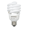 SYLVANIA 6-Pack 30-Watt (125 W) Spiral Base Soft White (2700K) CFL Bulbs ENERGY STAR