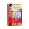 SYLVANIA 4-Pack 28-Watt A19 Medium Base (E-26) Base Soft White for Indoor or Enclosed Outdoor Use Only Halogen Light Bulb