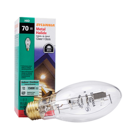 SYLVANIA 70-Watt 3,000K E17 Medium Base (E-26) Outdoor Metal Halide HID Light Bulb
