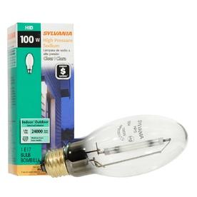 SYLVANIA 100-Watt 2,100K E17 Medium Base (E-26) High-Pressure Sodium HID Light Bulb