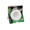 SYLVANIA 6-in White Dimmable LED Recessed Can Downlight Kit