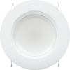 SYLVANIA 4-in White Integrated LED Disk Recessed Lighting Kit