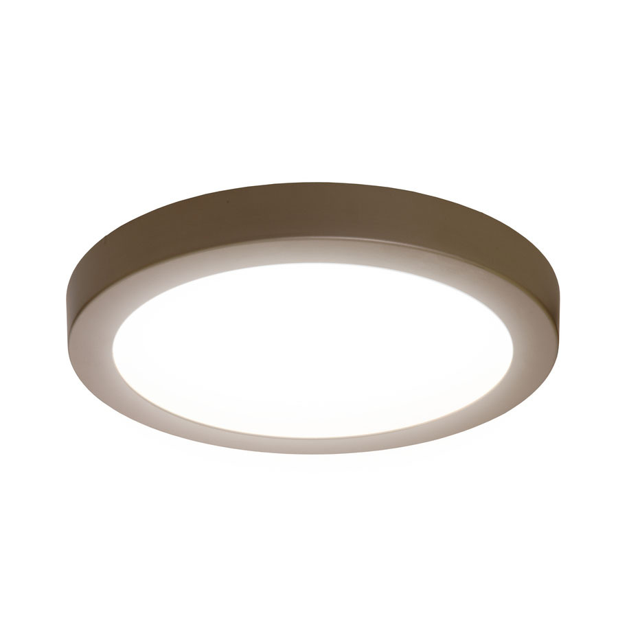 Ceiling Mounted Lights Led : Sylvania in w brushed nickel integrated led