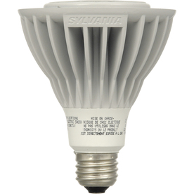 SYLVANIA 15-Watt (50W) PAR30 Longneck Medium Base Soft White Outdoor LED Flood Light Bulb ENERGY STAR