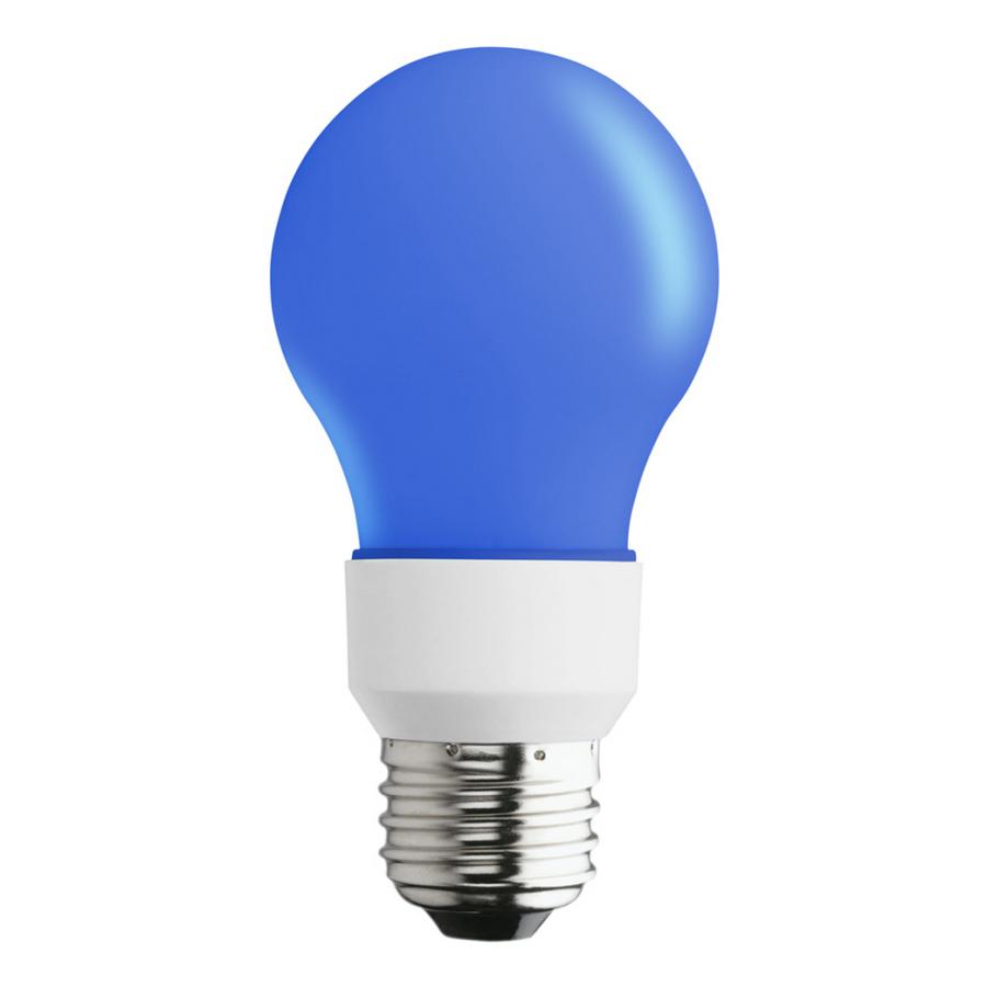 Shop SYLVANIA Blue LED A19 Specialty Light Bulb at Lowes.com