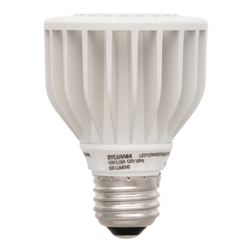 SYLVANIA 10-Watt (50W Equivalent) PAR20 Medium Base (E-26) Warm White Dimmable Outdoor LED Flood Light Bulb ENERGY STAR