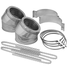 SuperVent 6-in Stainless Steel Elbow Kit