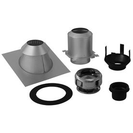 SuperVent 5-Piece Chimney Pipe Accessory Kit for Ceiling Support