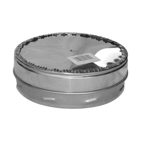 SuperVent 6-in x 6-in Stainless Steel Stove Pipe Tee