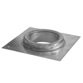 SuperVent 6-in Stainless Steel Stove Pipe Adapter