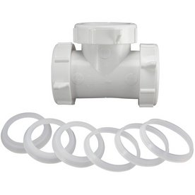 Keeney Mfg. Co. 1-1/2-in Dia PVC Sewer Drain Coupling