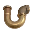 Keeney Mfg. Co. 1-1/2-in Brass Sink Trap J-bend