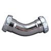 Keeney Mfg. Co. 1-1/4-in Brass Elbow Coupling