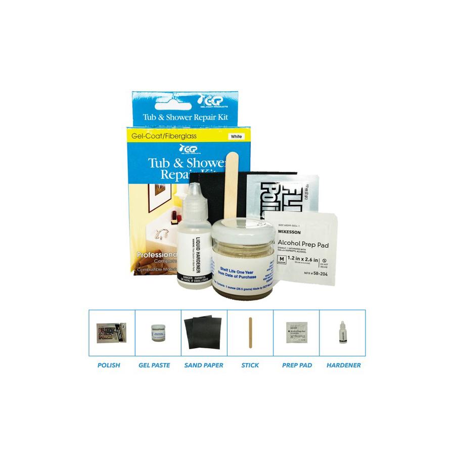 Lowe s fiberglass bathtub repair kit shop keeney mfg co 1 for Bathroom repair