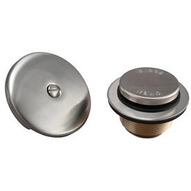 Plumb Pak Brushed Nickel Metal Trim Kit