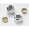 Plumb Pak 1/2-in Polished Brass Compression Nut