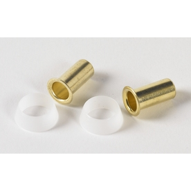 Plumb Pak 2-Pack 3/8-in Brass Pipe Fittings