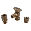 Keeney Mfg. Co. Polished Brass Quarter-Turn Angle Valve