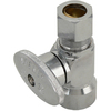 Keeney Mfg. Co. Chrome Quarter-Turn Straight Valve