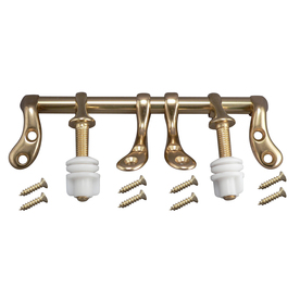 Plumb Pak Polished Brass Toilet Seat Hinges