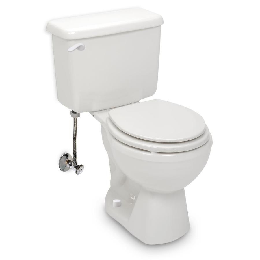White Toilet Bolt Caps Snap-On /& Push-On Types Set of 4 for 2 toilets