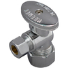 Plumb Pak Chrome Quarter Turn Angle Valve