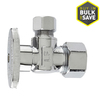 Keeney Mfg. Co. 1/2-in Brass Compression In-Line Angle Valve