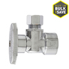 Plumb Pak 1/2-in Brass Female In-Line Angle Valve