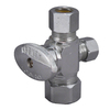 Keeney Mfg. Co. Chrome Quarter-Turn Angle Valve
