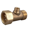 Keeney Mfg. Co. Rough Brass 3-Way Add-A-Tee