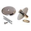Keeney Mfg. Co. Brushed Nickel Metal Trim Kit