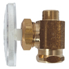 Keeney Rough Brass Straight Valve