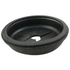 Plumb Pak 3-in dia Black Fixed Post Garbage Disposal Splash Guard