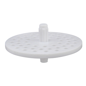 Plumb Pak 3-in dia White Fixed Post Garbage Disposal Splash Guard