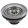 Keeney Mfg. Co. 4-1/2-in dia Stainless Steel Twist and Lock Sink Strainer