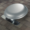 Air Vent 1,170-CFM Gray Galvanized Steel Electric Power Roof Vent