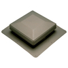 Air Vent Weatherwood Plastic Square Roof Louver