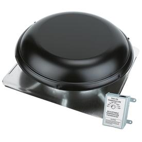 AIR VENT INC. 1,500-CFM Black Galvanized Steel Electric Power Roof Vent