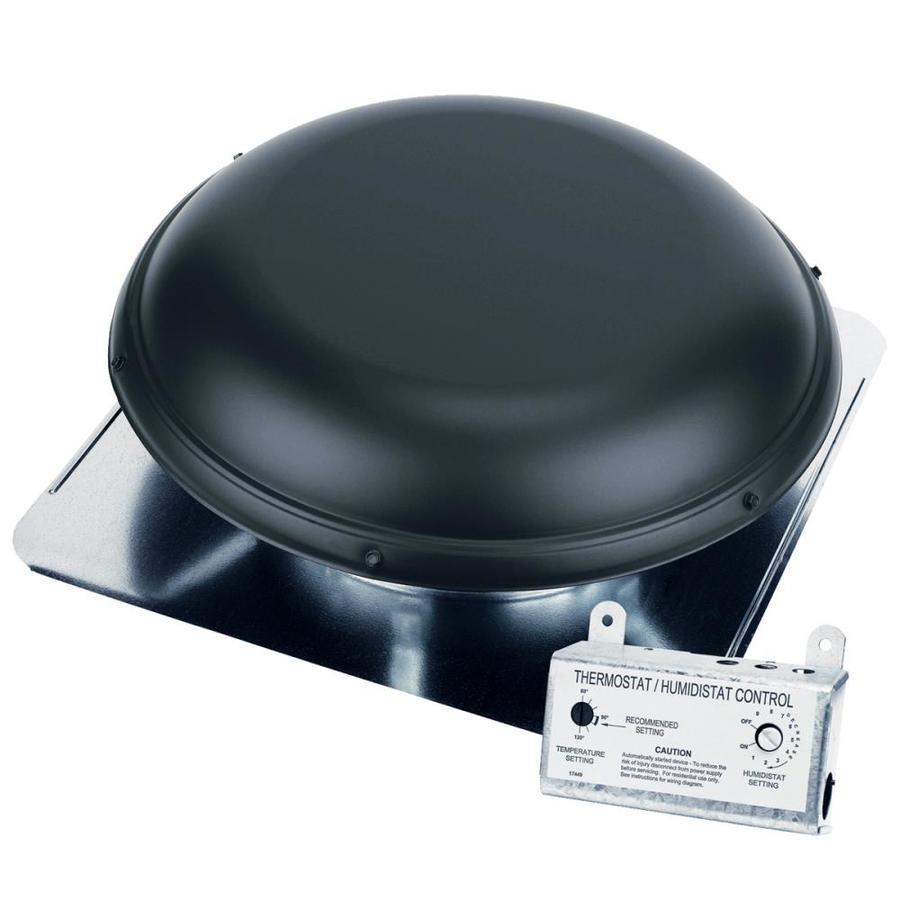 Shop Air Vent Black Roof Power Ventilation At Lowes Com