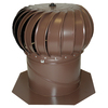 Air Vent 14-in Brown Aluminum Wind Turbine Head and Base