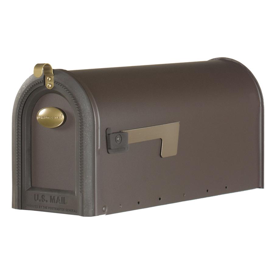 Postmaster Mailbox Post: Shop PostMaster 8-1/4-in X 11-in Metal Venetian Bronze