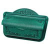 PostMaster 17.375-in x 12-in Metal Verde Green Wall Mount Mailbox