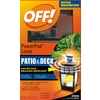Off 7-in Black Plastic Tabletop Citronella Candle or Citronella Torch