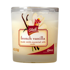 Glade 4-oz French Vanilla Candle